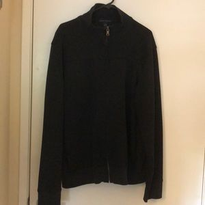 Black banana republic men's jacket